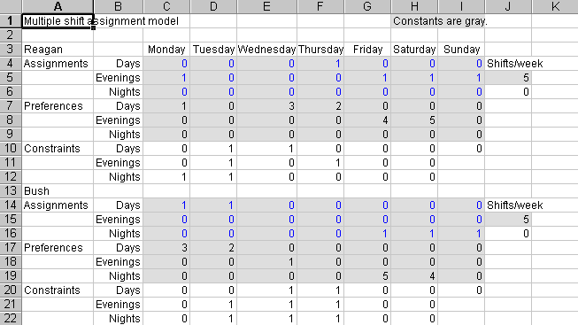 how to keep excel cells constant