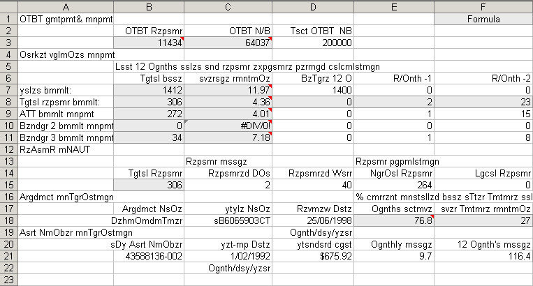 The Art of the Spreadsheet 8 Format with caution – How To Format A Spreadsheet